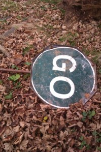 Have you lost your Go sign?